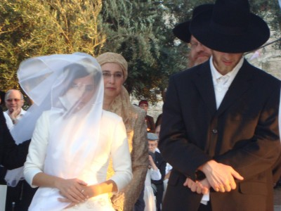 Rav's Son's wedding